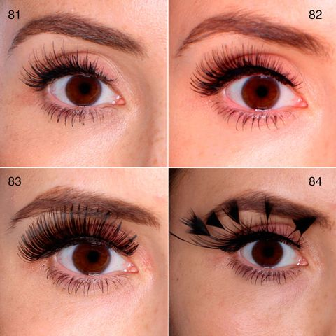100 False Lashes Tested On One Eye Picture Reviews