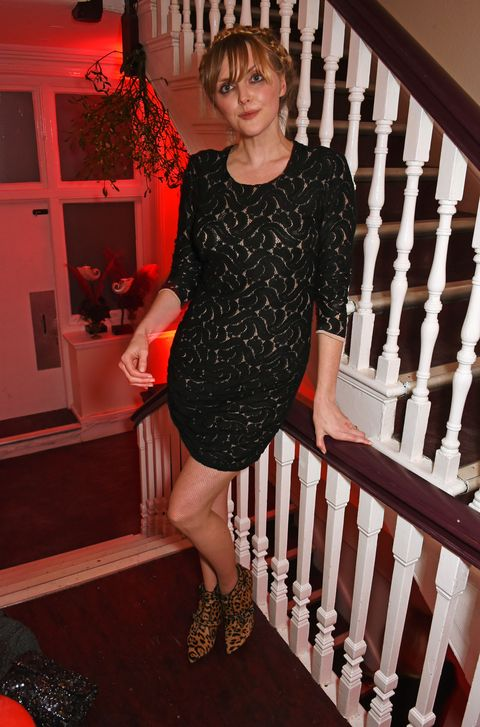 Celeb fashion at the Charlotte Tilbury Christmas party