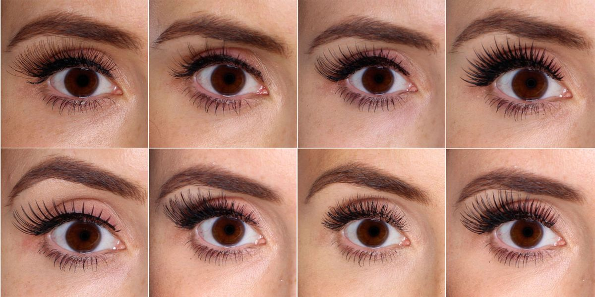 38fbccb2c34 100 false lashes tested on ONE eye: picture reviews