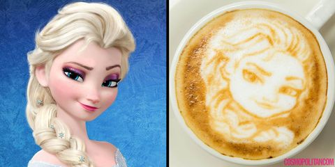 Disney Princess latte art exists and it's AMAZING