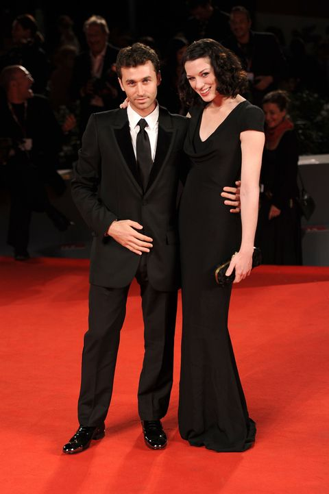 James Deen and Stoya at the Canyons premiere at Venice Film Festival 2013