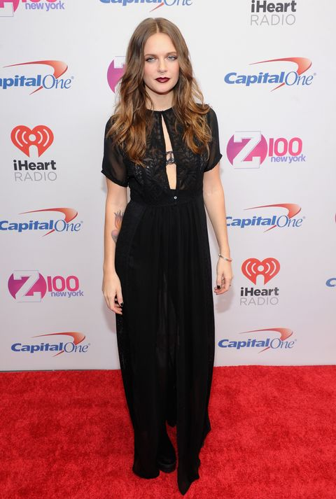 Celebrity outfits at the Jingle Ball 2015