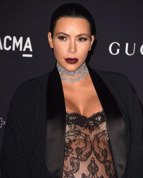 Kim Kardashian at the LACMA gala 2015