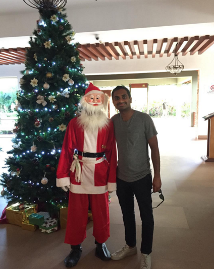 celebs celebrating christmas 2015