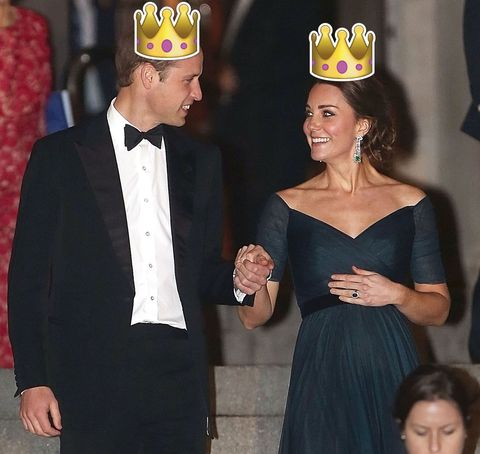According to US Tabloids, Prince William is 100% going to be our next king