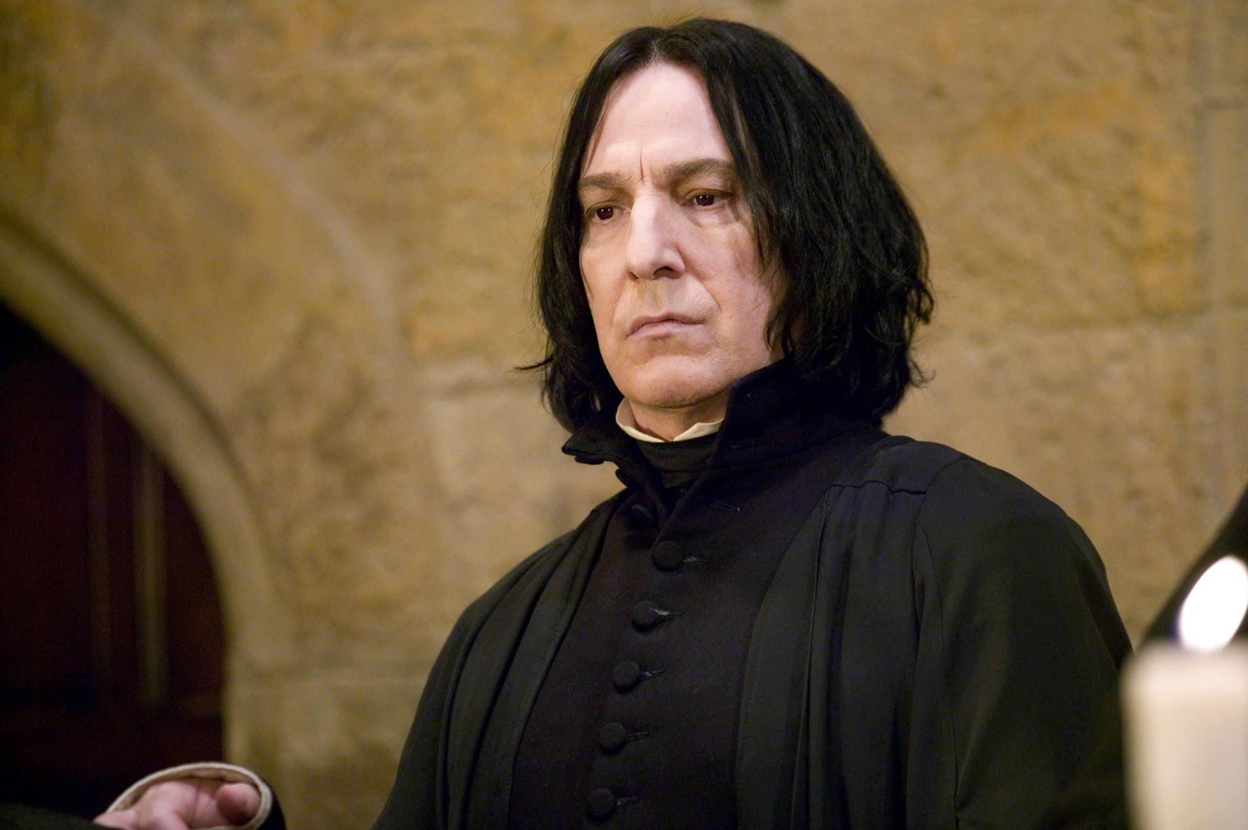 Snape S First Words To Harry Potter Actually Have A Really Deep