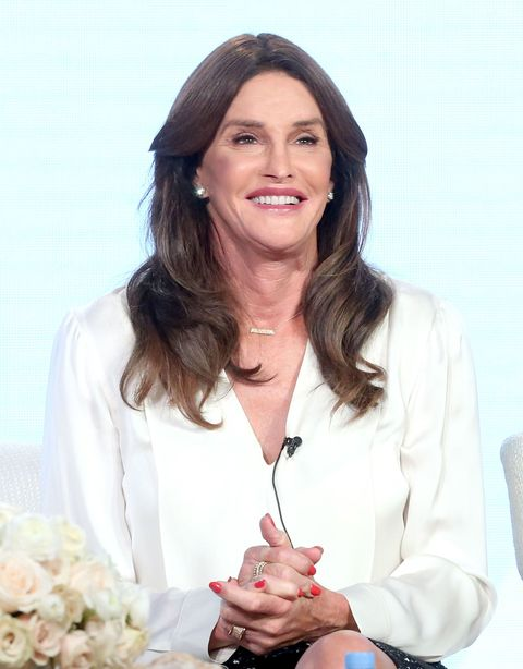 Caitlyn Jenner at the 2016 TCA press conference