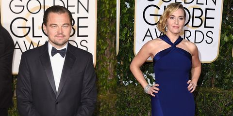 Leonardo DiCaprio and Kate Winslet had a deep and meaningful hug at the Golden Globes and it was beautiful