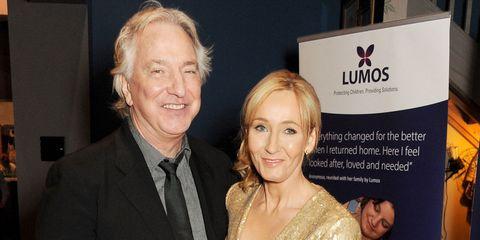 "JK Rowling describes Alan Rickman as a ""a wonderful man"""