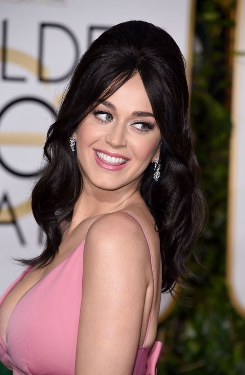Katy Perry at the 2016 Golden Globe Awards