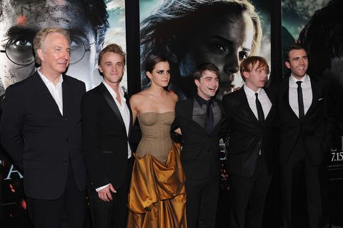Matthew Lewis leaves an emotional tribute to the late Alan Rickman