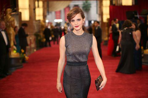 Emma Watson red carpet oscars