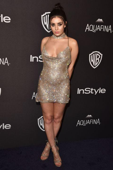 Golden Globe Awards 2016 Charli Xcx And Whitney Port
