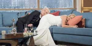 Holly Willoughby and Phillip Schofield were still drunk when they presented This Morning today