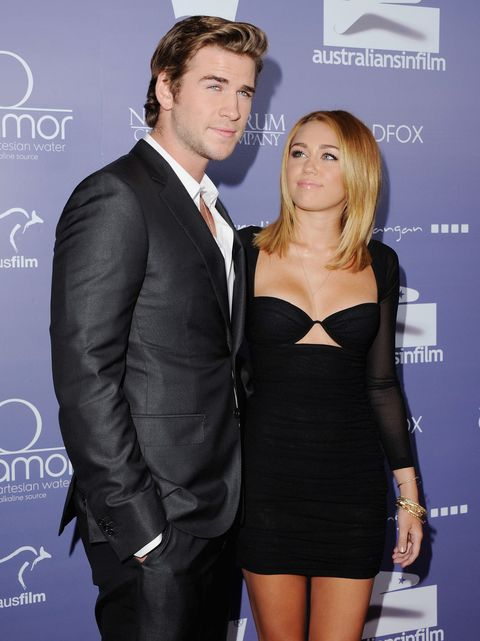 Rumour has it Miley Cyrus and Liam Hemsworth are back together and engaged once again