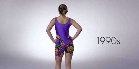 100 years of workout wear