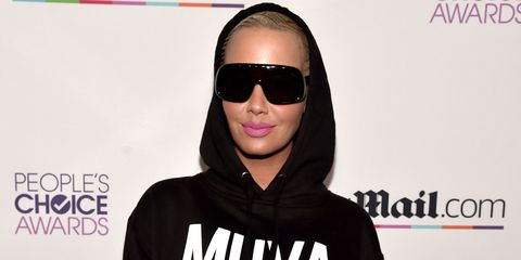 Amber Rose at the Daily Mail afterparty
