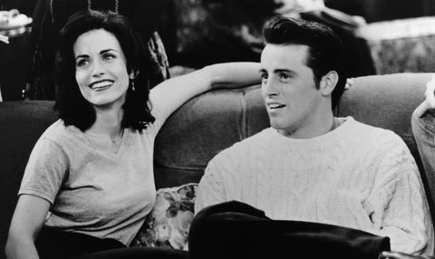 Are Courteney Cox and Matt Le Blanc a thing, then?
