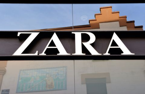 Zara brand sign