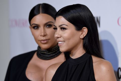 Kourtney posts the first picture of Kim since giving birth to Saint