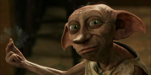 Dobby from Harry Potter is S&M icon