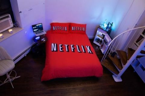 A Netflix and chill room has just been added to Airbnb