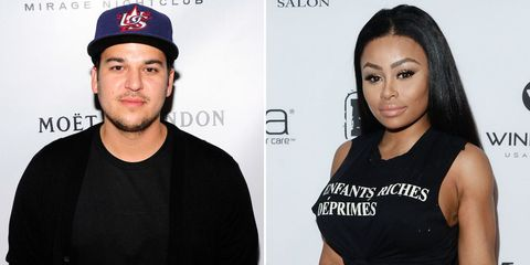 Rob Kardashian is hanging out with Blac Chyna, apparently