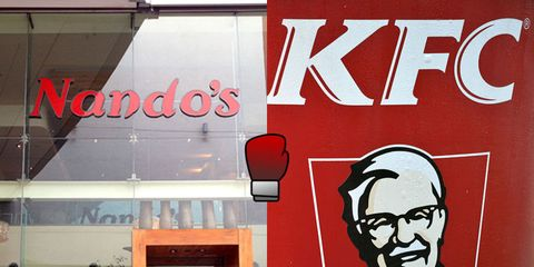 Turns out some of KFC's meals are actually HEALTHIER than Nando's