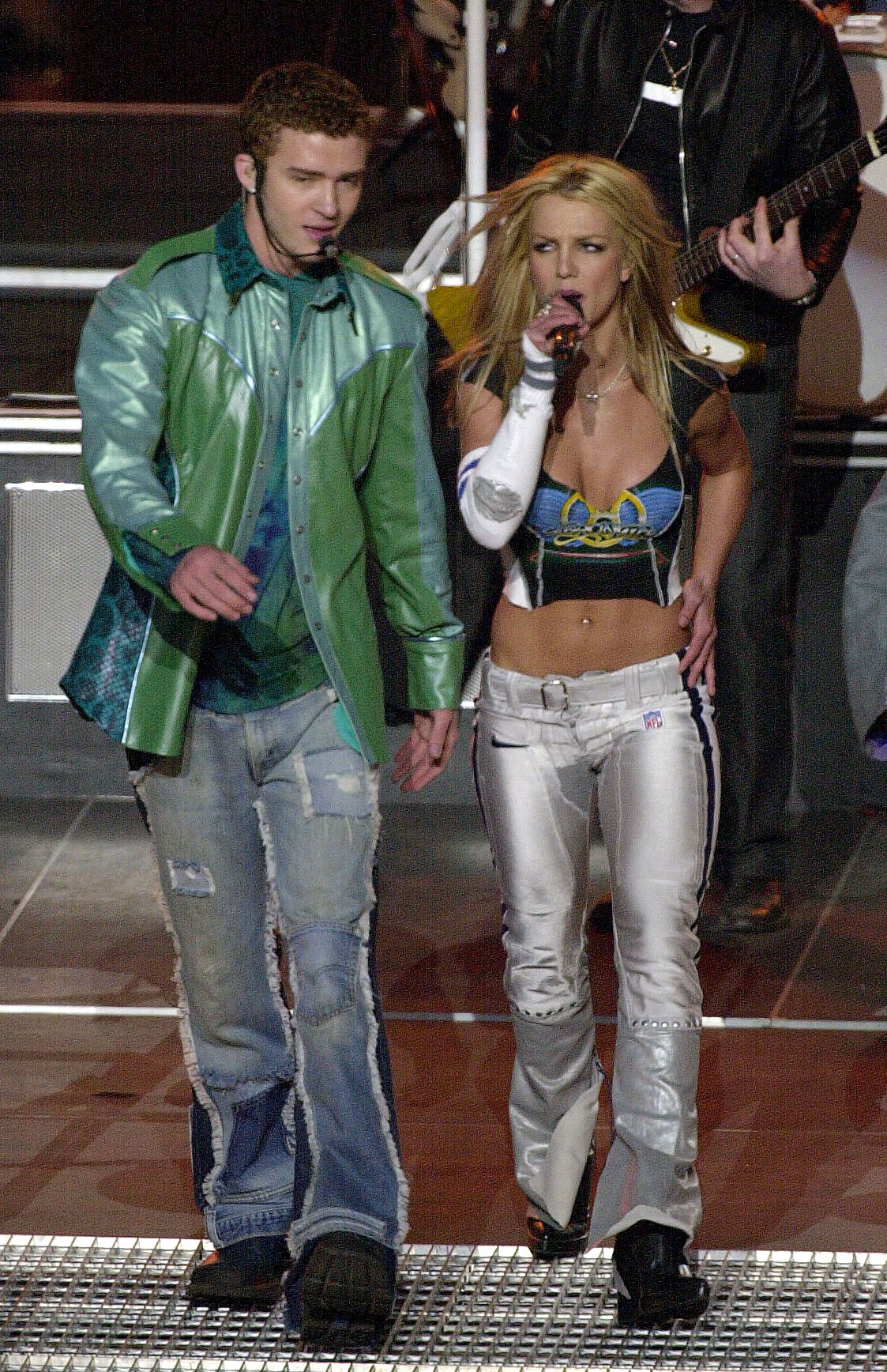 Throwback To That Time Britney Spears And Justin Timberlake Owned The Super Bowl Halftime Show