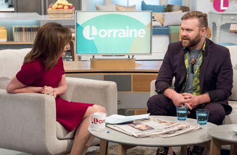 Daniel Bedingfield is not dead and he went on Lorraine to prove it