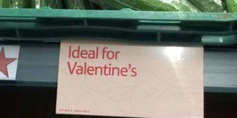 Valentine's Day Tesco funny