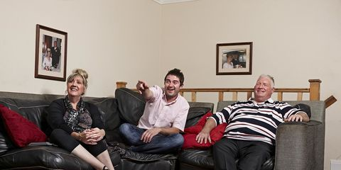 George Gilbey is returning to Gogglebox and he's going to be a dad