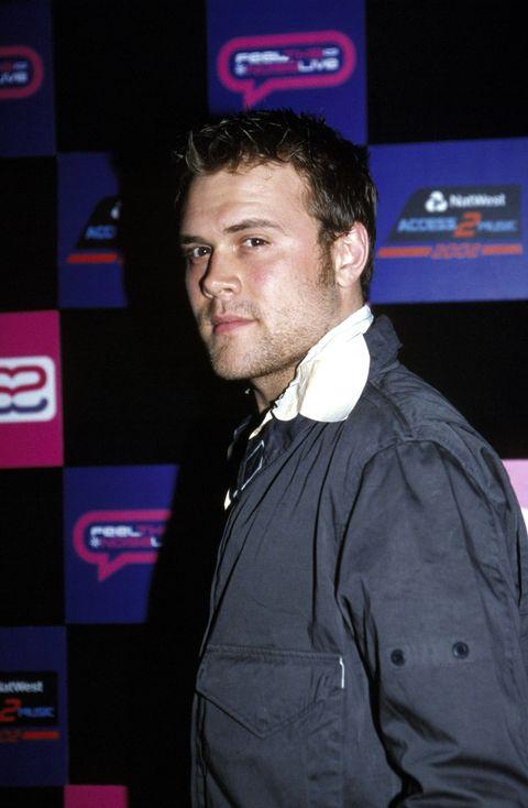 EVENT: Wembley Arena 2002 ARTIST: Daniel Bedingfield PHOTOGRAPHER: Nicky J. Sims AGENCY: Redferns. COPYRIGHT: Nicky J. Sims / Redferns.