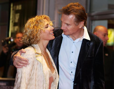 Liam Neeson has found love again after the tragic loss of his wife