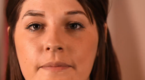 This woman was left with four eyebrows after a beauty disaster and over plucking