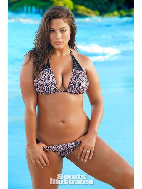 Ashley Graham will be the first size 16 model to cover