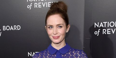 Emily Blunt at the national board of review gala