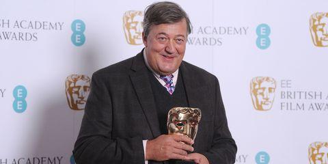 Stephen Fry at BAFTA's