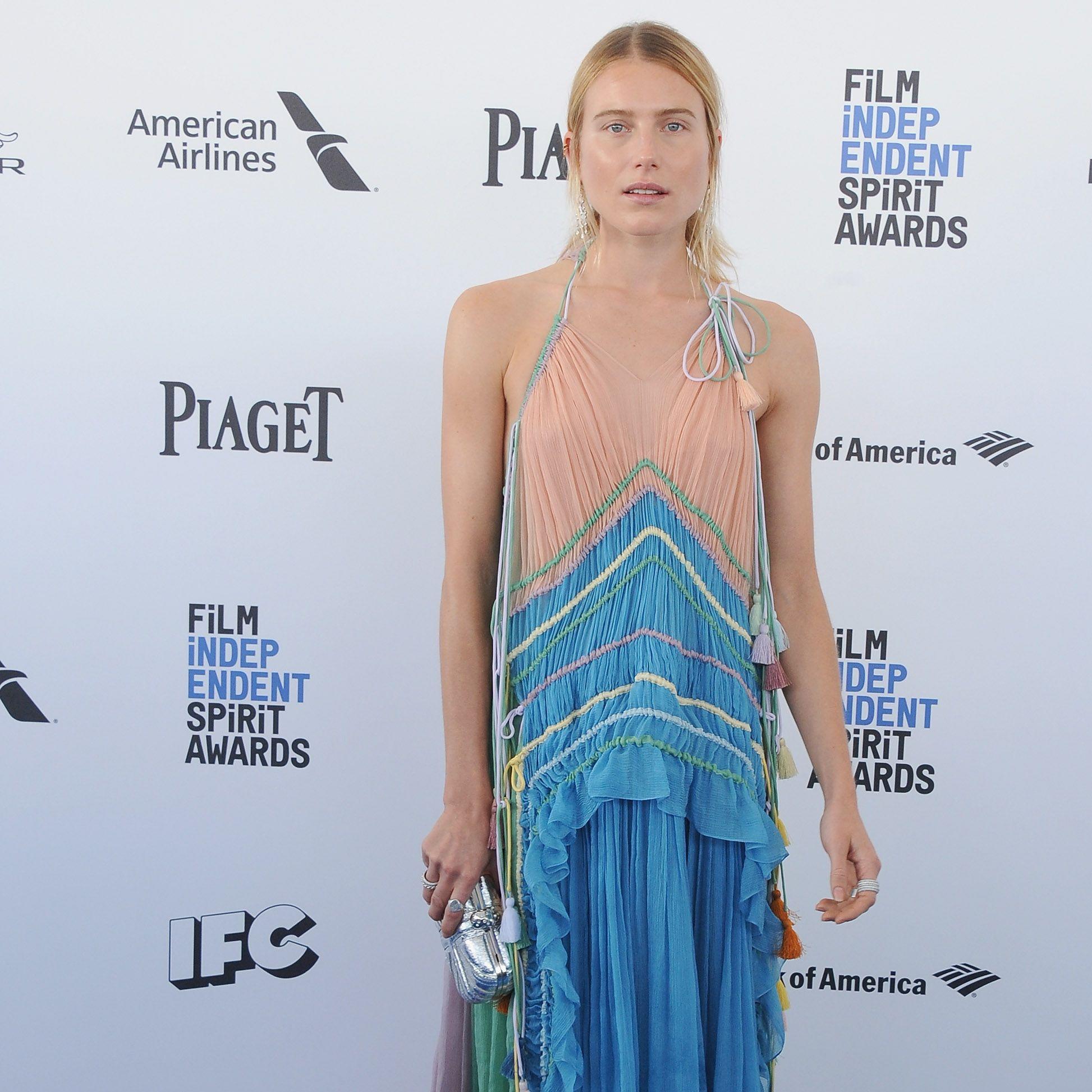 Celeb fashion at the Independent Spirit Awards 2016
