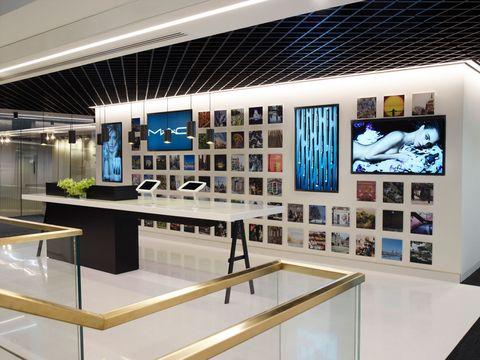 Estée Lauder's London office is beyond cool
