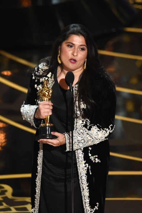 Filmmaker Sharmeen Obaid-Chinoy made the most meaningful speech of the night at last night's Oscars