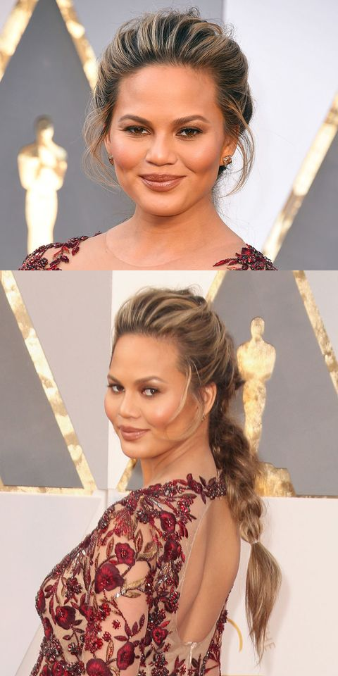 Oscars 2016 beauty: Chrissy Teigen
