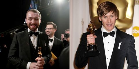 Dustin Lance Black is not happy with Sam Smith for snubbing him during his Oscars speech