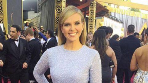 Sunrise presenter Edwina Bartholomew's 'vagina' dress goes viral