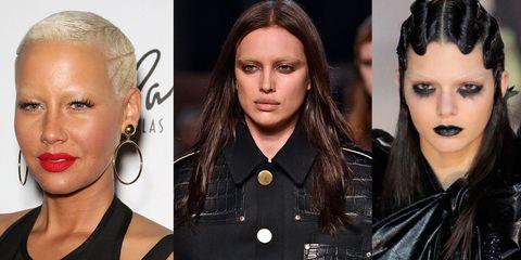 Face, Head, Nose, Lip, Eye, Hairstyle, Skin, Eyelash, Eyebrow, Collar,