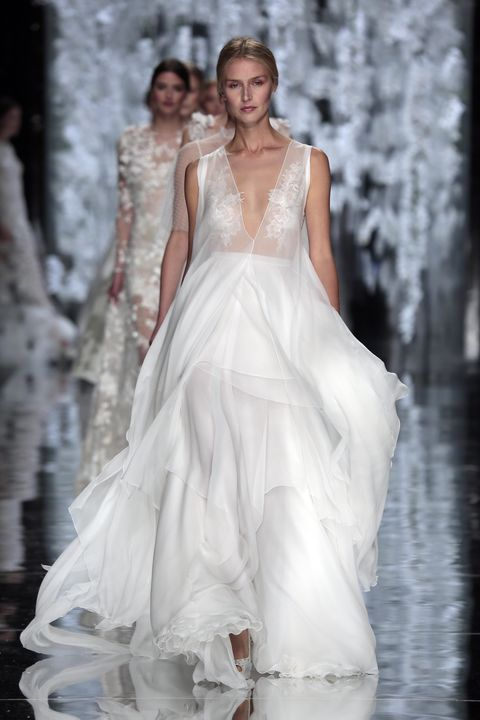 Extremely revealing wedding dresses for ballsy brides