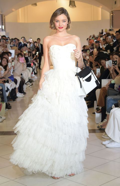 Miranda Kerr Wedding Dress.This Is What Miranda Kerr Looks Like In A Wedding Dress