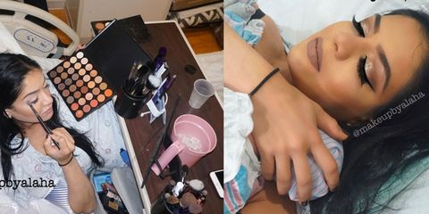 Finger, Hand, Nail, Eyelash, Wrist, Tooth, Cosmetics, Plate, Kitchen utensil, Thumb,