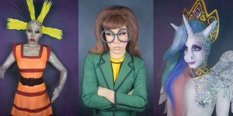 Hairstyle, Yellow, Style, Animation, Dress, Iris, Costume accessory, Fictional character, Fashion, Hair accessory,