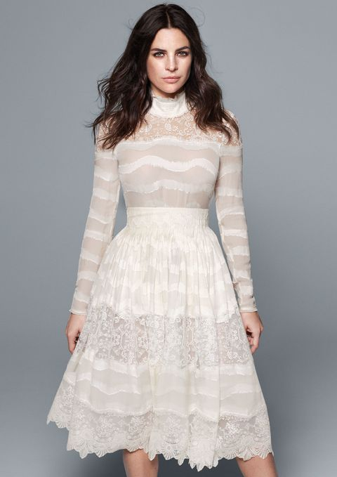 h m are making wedding dresses